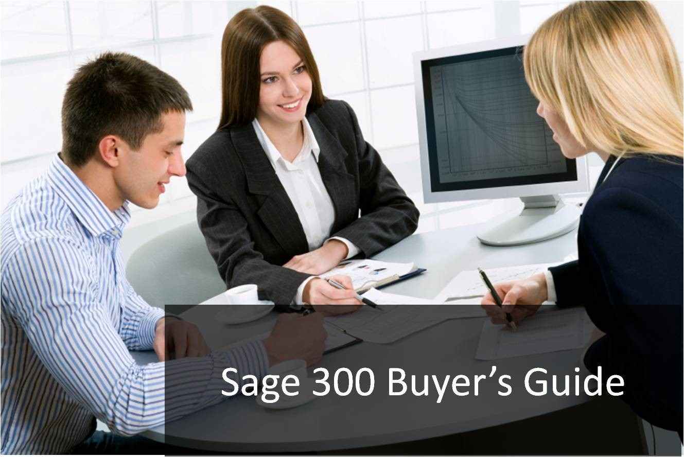 Sage 300 Buyer's Guide