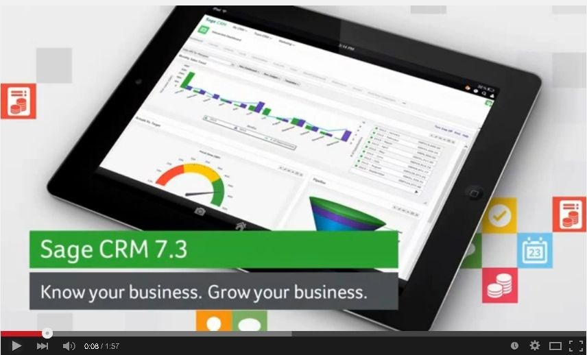 Sage CRM 7.3 – new features, new look, new business potential